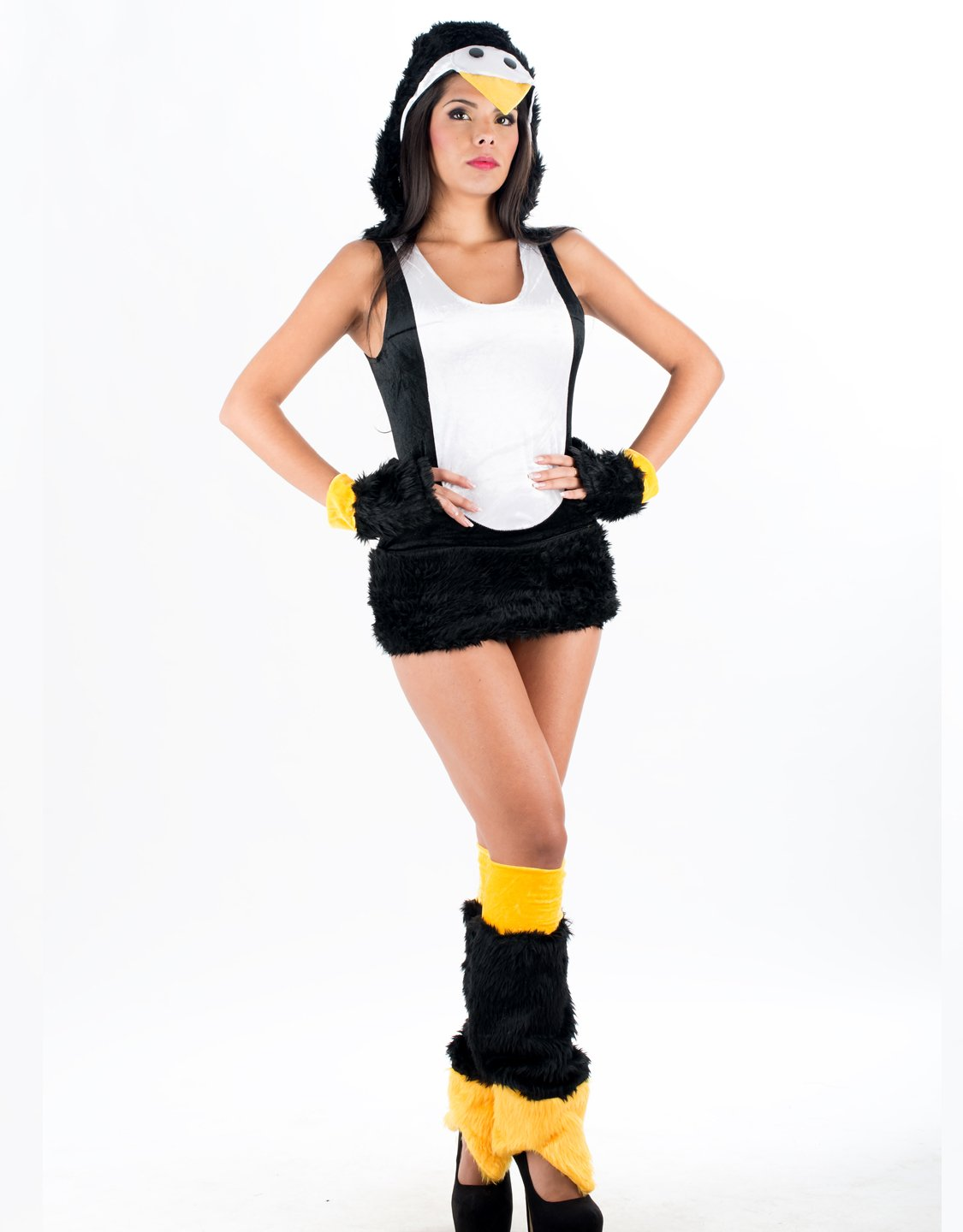 Sexy Penguin Villus Adult Costume Naughty Animal Cosplay Fancy Dress Halloween Costume W349008
