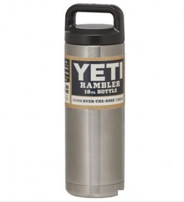 YETI Rambler Bottle 18 OZ Stainless Steel