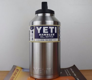 YETI Rambler Bottle 64 OZ Stainless Steel