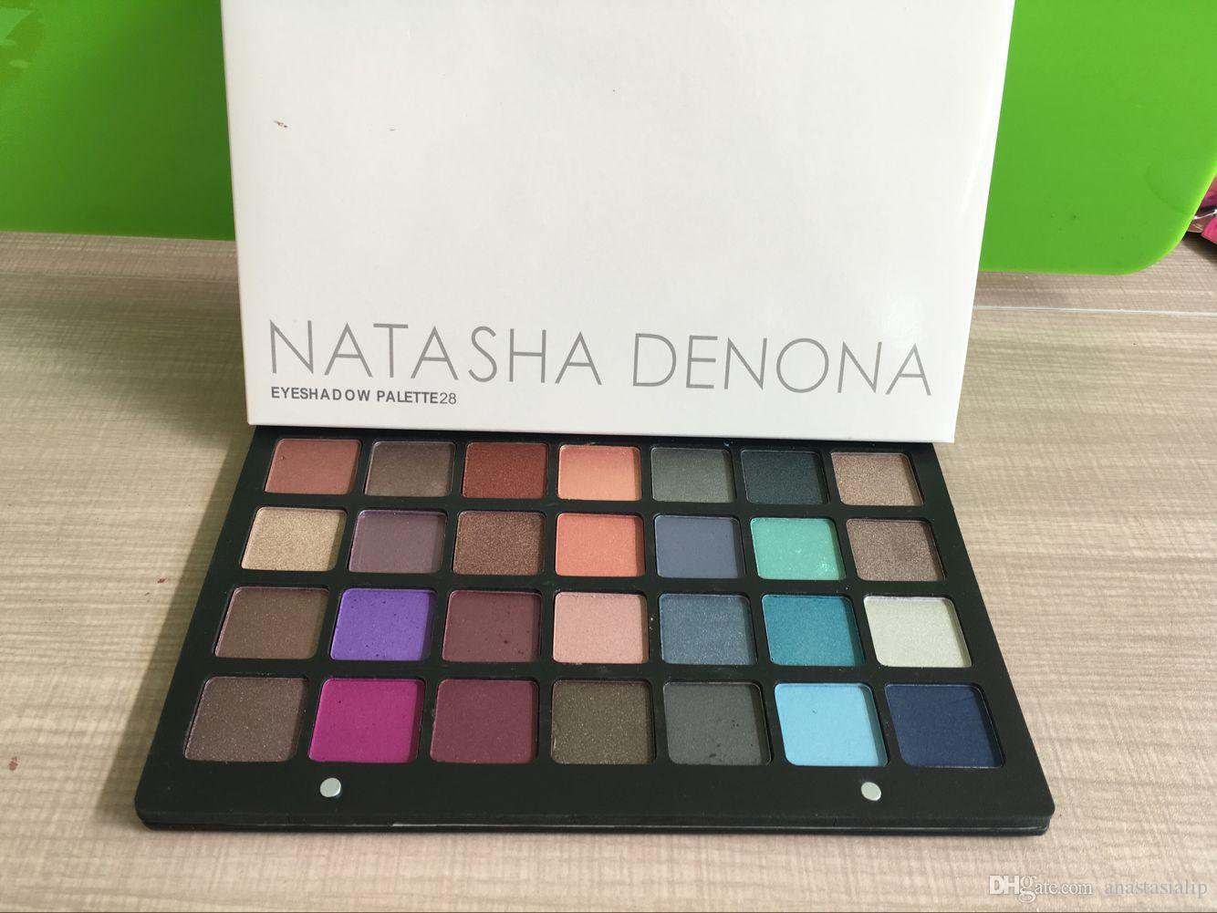 Natasha Denona Purple-Blue 28 Colors Eyeshadow Palette