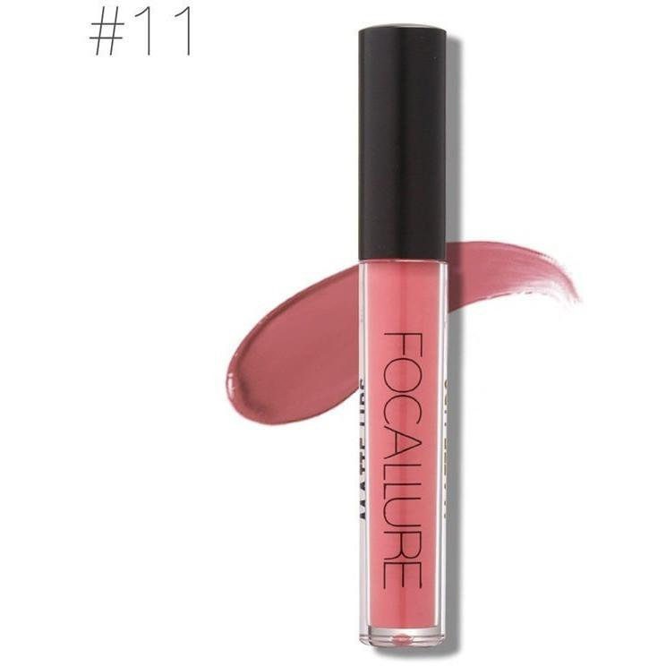 Hot Focallure #11 Fuzzy Wuzzy Authentic Waterproof Matte Liquid Lipstick US FREE SHIPPING