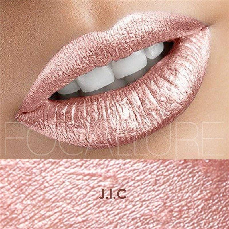 Hot Focallure #16 J.I.C Authentic Waterproof Lip Gloss Liquid Lipstick US FREE SHIPPING
