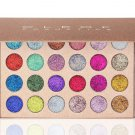 CLEOF Pressed Glitter Eyeshadow Palette - 24 Colors by CLEOF Cosmetics SALE 10% OFF