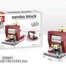 Sembo blocks Mini World - Ice-cream shop (SD6601)