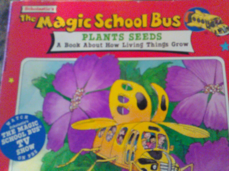 Magic School Bus Plant Seeds Children's Book
