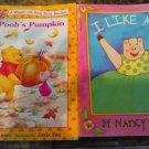 Pooh's pumpkin and I Like Me children's books