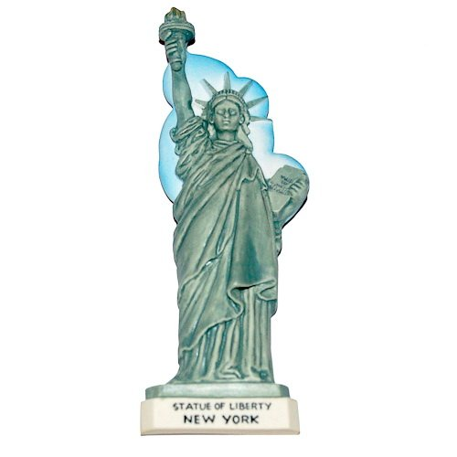 Statue of Liberty, NEW YORK USA, High Quality Resin 3D Fridge Magnet