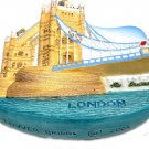 Tower Bridge LONDON United Kingdom, High Quality Resin 3D Fridge Magnet
