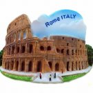 Souvenir Colosseum, ROME Italy, High Quality Resin 3D Fridge Magnet