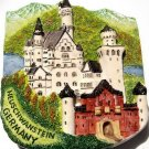 Souvenir Neuchwanstein, GERMANY, High Quality Resin 3D Fridge Magnet
