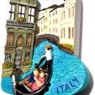 Souvenir Venice Gondola, ITALY, High Quality Resin 3D Fridge Magnet