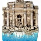 Souvenir Trevi Fountain, ROME Italy, High Quality Resin 3D Fridge Magnet