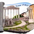 Souvenir Roman Forum, ROME Italy, High Quality Resin 3D Fridge Magnet