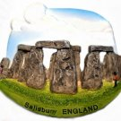 Souvenir Stonehenge, ENGLAND United Kingdom, High Quality Resin 3D Fridge Magnet
