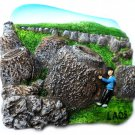 Souvenir Plain of Jars, LAOS, High Quality Resin 3D Fridge Magnet