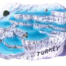Souvenir Pamukkale, TURKEY, High Quality Resin 3D Fridge Magnet