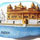 Souvenir The Golden Temple, INDIA , High Quality Resin 3D Fridge Magnet