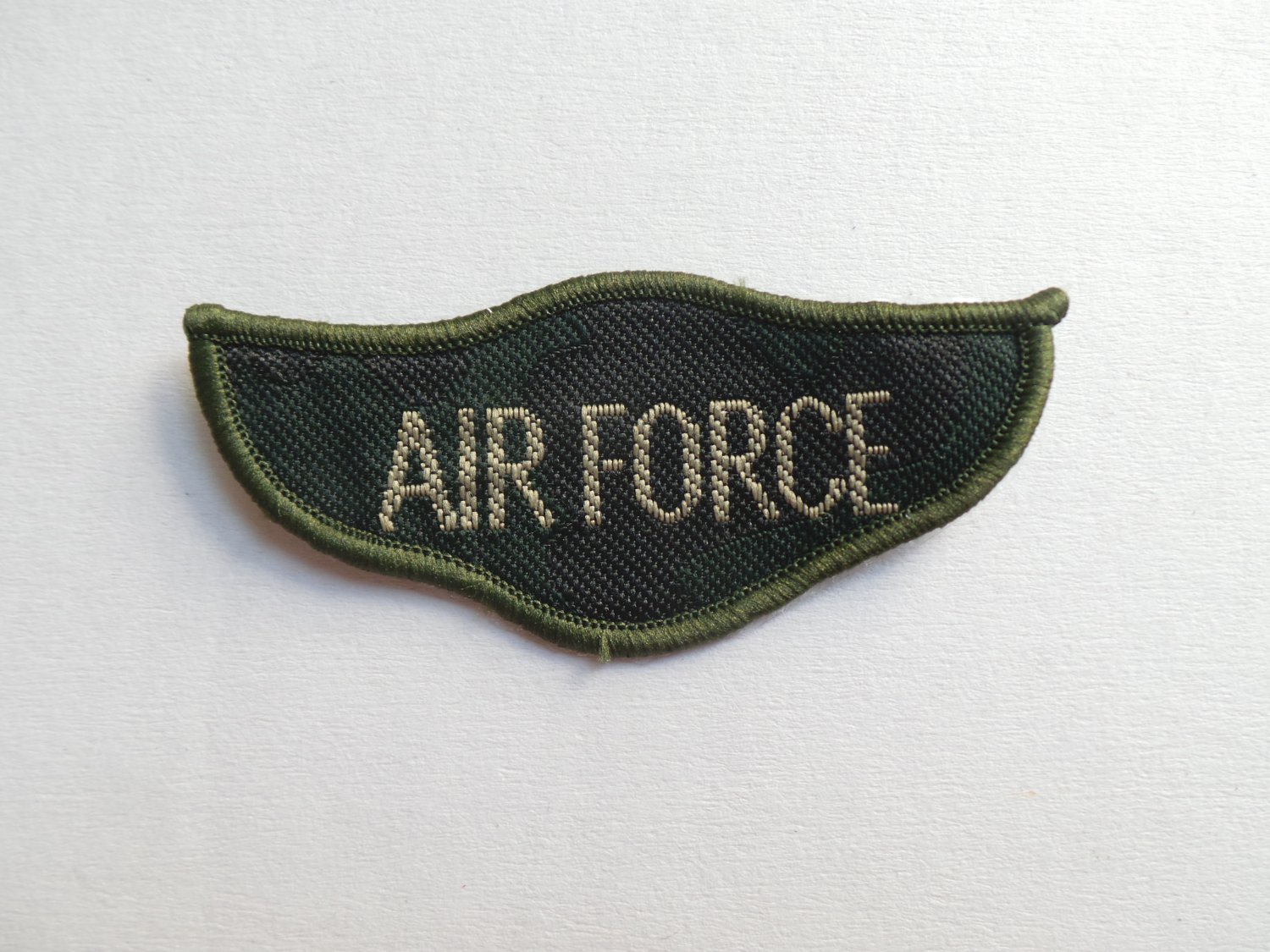 Army Iron On Patches Military Soldier Navy Air Force Embroidered Applique Badge