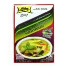 LOBO 2in1 GREEN CURRY PASTE WITH CREAMED COCONUT 100 g.