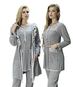 ARTIS, Women�s 3-Piece Fleece Pajama and Homewear Set