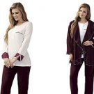 ARTIS, Women's 3-Piece Fleece Pajama  Set