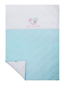 Sydney Baby, 100% Cotton Baby Blanket, Jersey Knit-DOLLY MINT