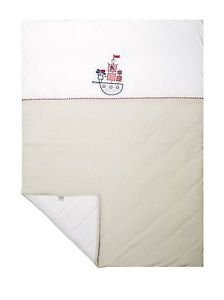Sydney Baby, 100% Cotton Baby Blanket, Jersey Knit-BRAVE PIRATES