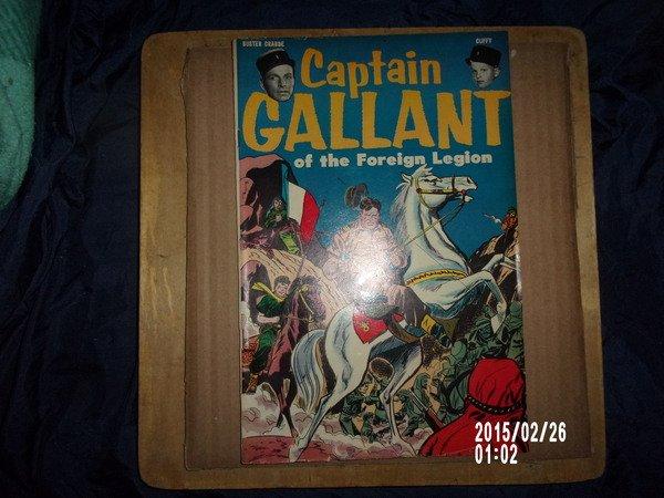 VINTAGE CAPTAIN GALLANT OF THE FOREIGN LEAGUE COMIC BOOK