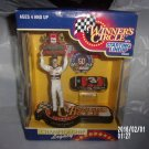 1998 WINNER'S CIRCLE DALE EARNHARDT FIGURINE WITH TOY CAR IN ORIGINAL PACKAGING