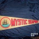 VINTAGE MYSTIC SEAPORT MYSTIC CONNECTICUT PENNANT