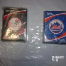 BRAND NEW SET OF NEW YORK BASEBALL PLAYING CARDS YANKEES AND METS