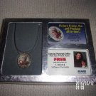 SEARS PICTURE FRAME, PIN AND PENDANT ALL IN ONE IN ORIGINAL BOX