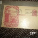 VINTAGE THE GREAT EMANCIPATOR ABRAHAM LINCOLN FIRST DAY COVER