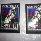 SET OF TWO 1996 KENTUCKY DERBY 121 PINS