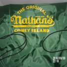 BRAND NEW NATHAN'S HOT DOGS NATHAN'S FAMOUS DRAWSTRING BAG
