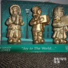 VINTAGE THE LEAJOY GALERIES JOY TO THE WORLD CAROLING PORCELAN FIGURINES