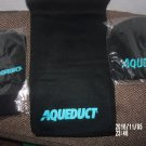 BRAND NEW SET OF 2016 AQUEDUCT RACETRACK HORSE RACING ITEMS GLOVES SCARF HAT