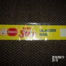 VINTAGE BORDEN ELSIE STIX GLACIER BAR SUPERMARKET / STORE SIGN
