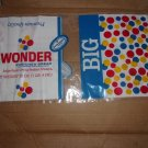 VINTAGE 1960s WONDERBREAD WONDER BREAD '37 CENTS' BAG / WRAPPER