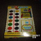 VINTAGE ROSEART 36 COLOR FUN KIT IN ORIGINAL BOX PAINT CRAYONS CHALK OLD STOCK