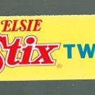 VINTAGE BORDEN ELSIE STIX TWIN POP SUPERMARKET / STORE SIGN