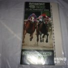 BELMONT PARK SEPTEMBER 15, 2007 POCKET PROGRAM GAZELLE STAKES RAGS TO RICHES