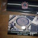 BRAND NEW NY NEW YORK RANGERS HEADBAND WITH MADISON SQUARE GARDEN POSTCARD