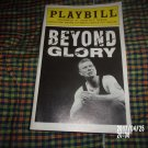 2007 BEYOND GLORY ROUNDABOUT AT LAURA PELS THEATRE PLAYBILL