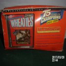 VINTAGE WHEATIES 75 YEARS OF CHAMPIONS JACKIE ROBINSON 24 K GOLD SIGNATURE BOX
