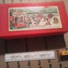 VINTAGE KELLOGGS RICE KRISPIES PENCIL CASE WITH RULER AND SHARPENER