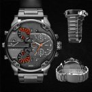 Men's Fashion Luxury Watch Stainless Steel Sport Analog Quartz Mens Wristwatches