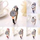 Fashion Women Elegant Ladies Dress Bracelet Stainless Steel Quartz Wrist Watch