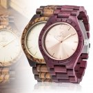 UWOOD New Casual Men's Sandal Wooden Analog Quartz Wristwatch Gift Box