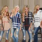Fall Women's Lady Loose Long Sleeve Casual Blouse Shirt Tops New Fashion Blouse